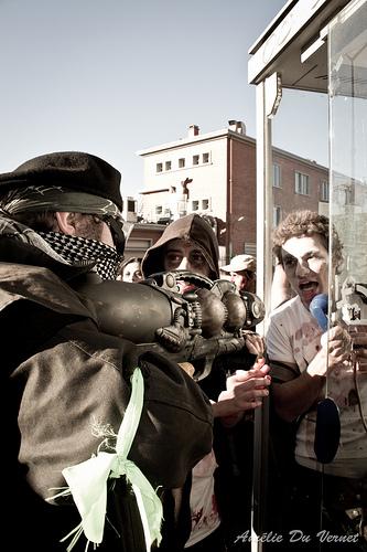 Walking dead à Toulouse – Les zombies sont en marche.