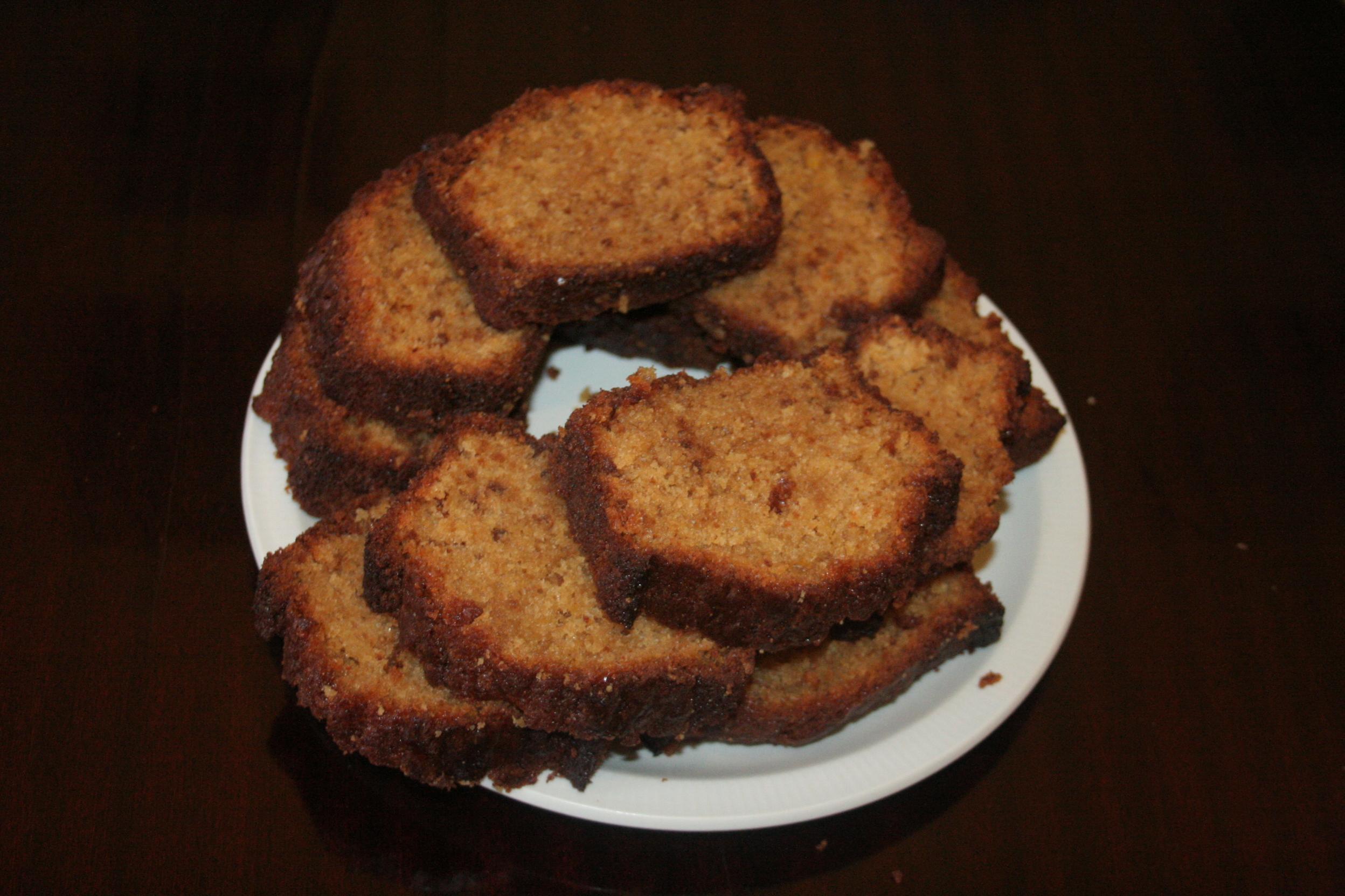 Le fabuleux cake d'Amel à la pâte de Spéculoos