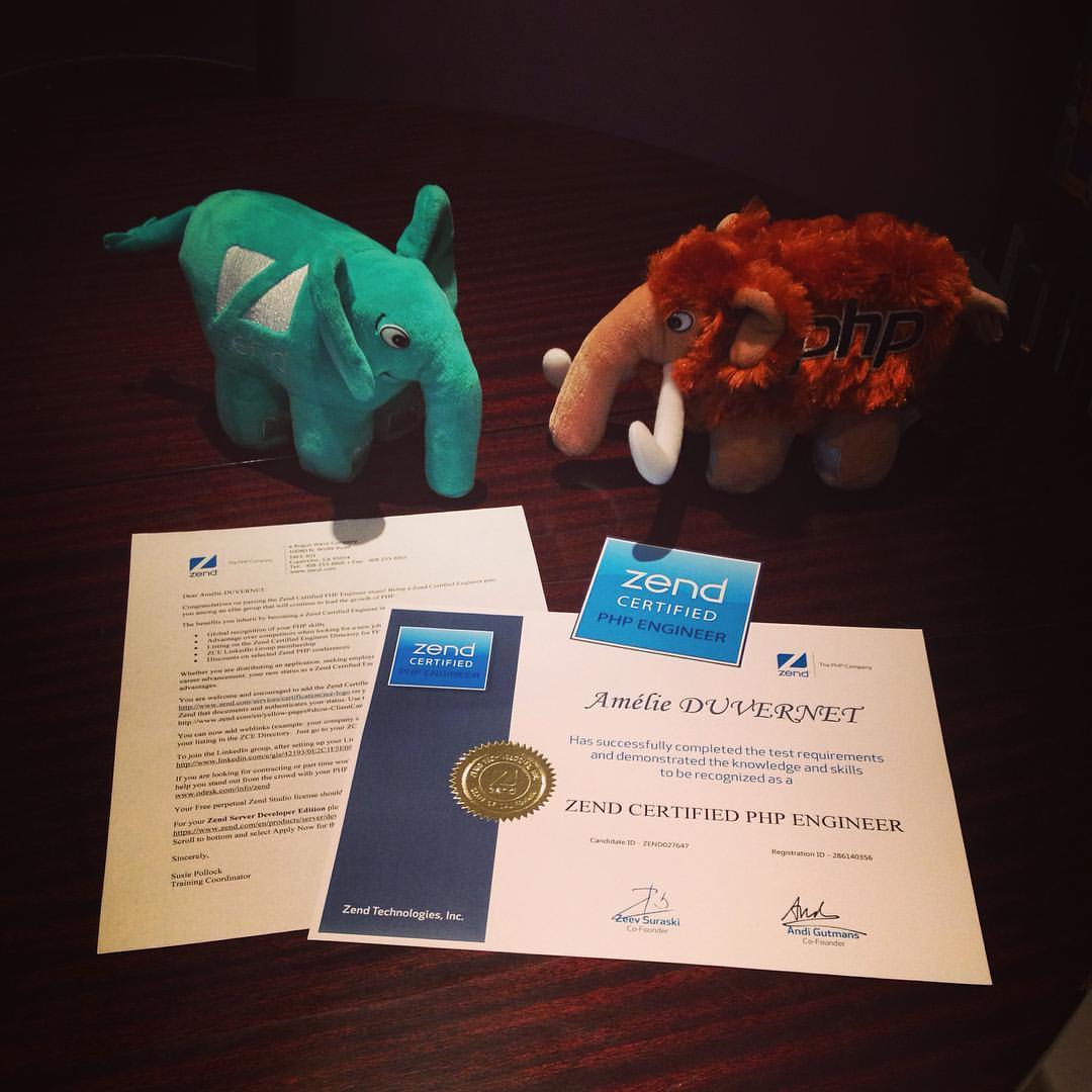Retour d'expérience sur la certification ZCPE …